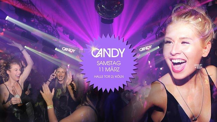 Party - CANDY am Samstag 11. März in der Halle/ Tor 2