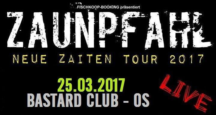 Fiesta Zaunpfahl Release Tour 2017 Bastard Club In Osnabruck