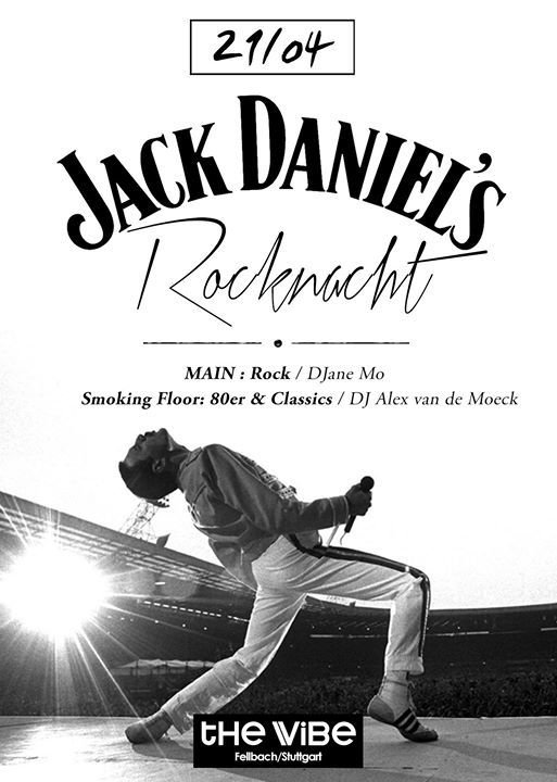 party jack daniels rocknacht 22 uhr the vibe in fellbach. Black Bedroom Furniture Sets. Home Design Ideas