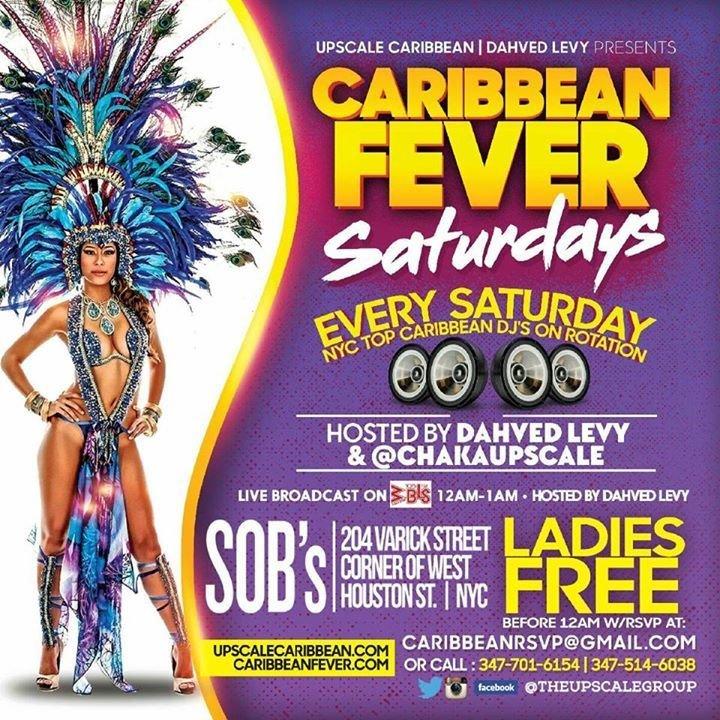 Caribbean Sound Caribbean Sound: Caribbean Fever Saturdays