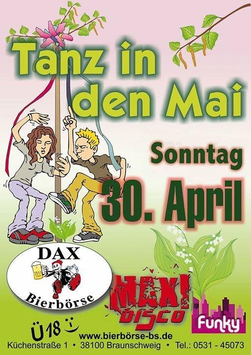 party tanz in den mai dax bierb rse in braunschweig. Black Bedroom Furniture Sets. Home Design Ideas