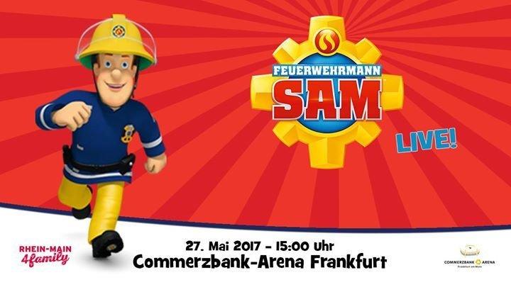 party feuerwehrmann sam live pontypandy rockt commerzbank arena in frankfurt am main. Black Bedroom Furniture Sets. Home Design Ideas
