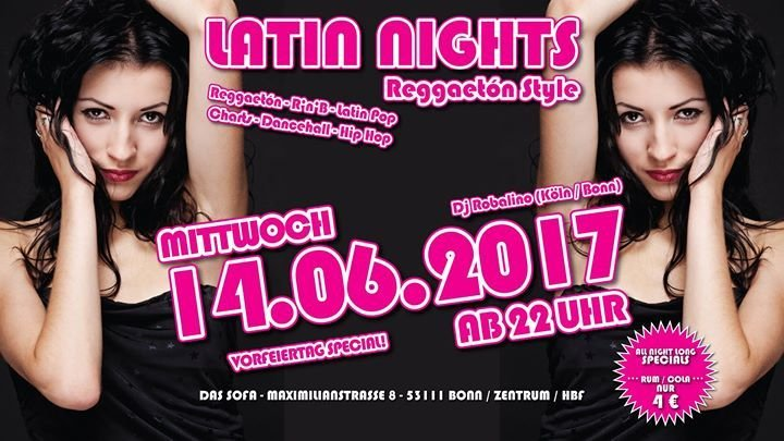 party latin nights reggaeton style das sofa in bonn. Black Bedroom Furniture Sets. Home Design Ideas