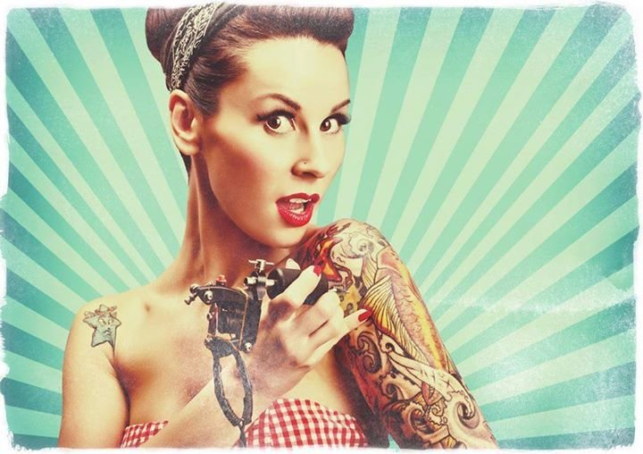 Festa Tattoo Convention Geiselwind Us Car Treffen 2017