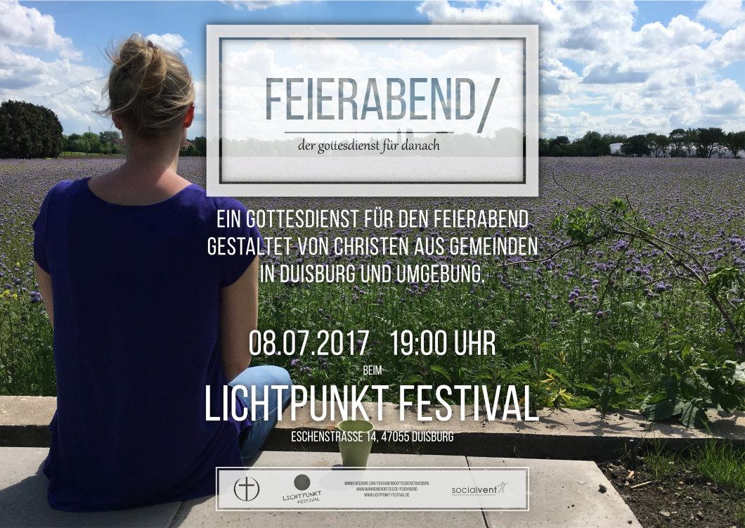 Messe - FEIERABEND GOTTESDIENST - FEG DUISBURG