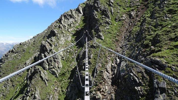 Klettersteig Montafon : Party eröffnung klettersteig hochjoch silvretta montafon in st