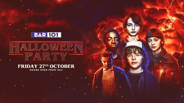 Party - Halloween Party Bar 101 - Bar 101 in Auckland - 27.10.2017