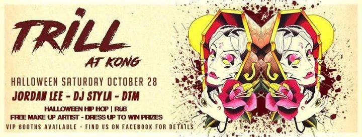 Party Halloween Saturday Trill At Kong Club Kong In Auckland