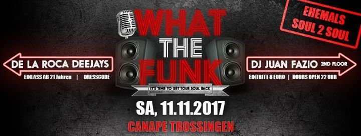 Party what the funk canape in trossingen for Canape trossingen