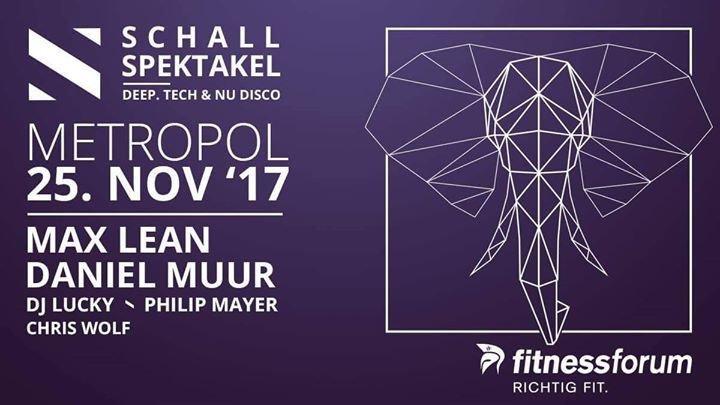 Graphic Design Muur : Party schall spektakel 25.11.2017 metropol in friedrichshafen