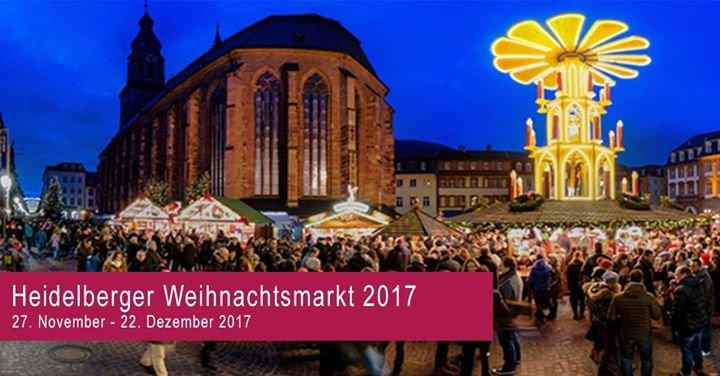 Heidelberg Weihnachtsmarkt.Party Heidelberger Weihnachtsmarkt 2017 Heidelberg In Heidelberg