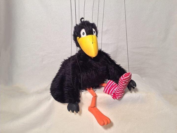fiesta marionettentheater der kleine rabe socke feiert. Black Bedroom Furniture Sets. Home Design Ideas