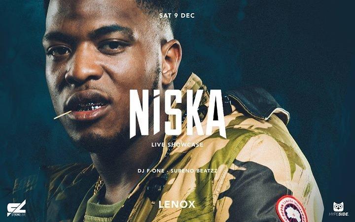 Niska Live Showcase Lenox