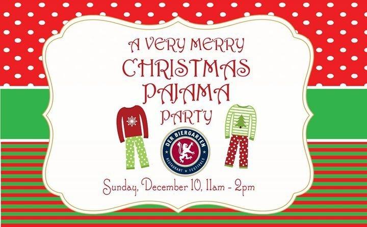 very merry christmas pajama party - Christmas Pajama Party