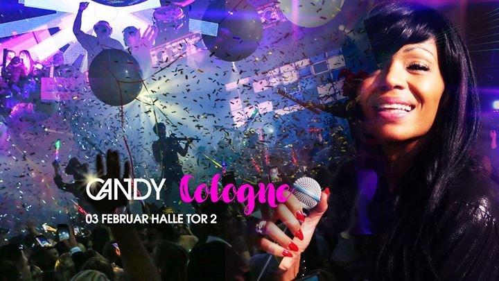 Party - CANDY am Samstag 3.2. in der Halle/ Tor 2 - Die