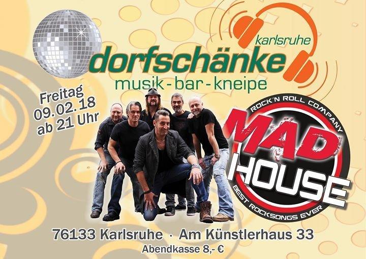 Party - One Night@The Dorfschänke - MadHouse - Dorfschänke Karlsruhe ...