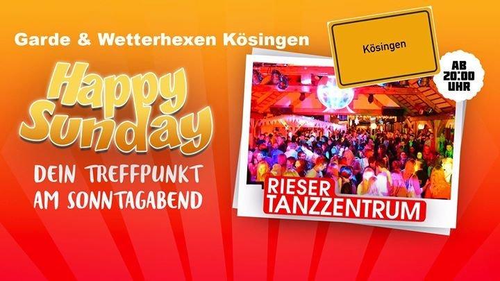 party sonntag happy sunday mit garde wetterhexen rieser tanzzentrum in n rdlingen. Black Bedroom Furniture Sets. Home Design Ideas