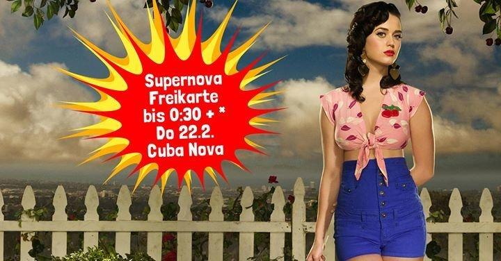 party supernova party 22 2 cuba nova in m nster. Black Bedroom Furniture Sets. Home Design Ideas
