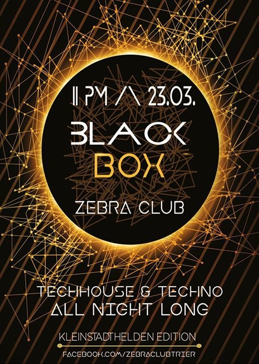 Party Blackbox Techhouse Techno