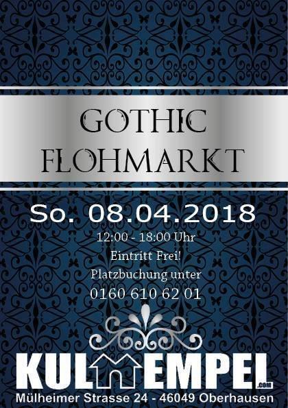 party gothic flohmarkt kulturkeller duisburg in duisburg. Black Bedroom Furniture Sets. Home Design Ideas