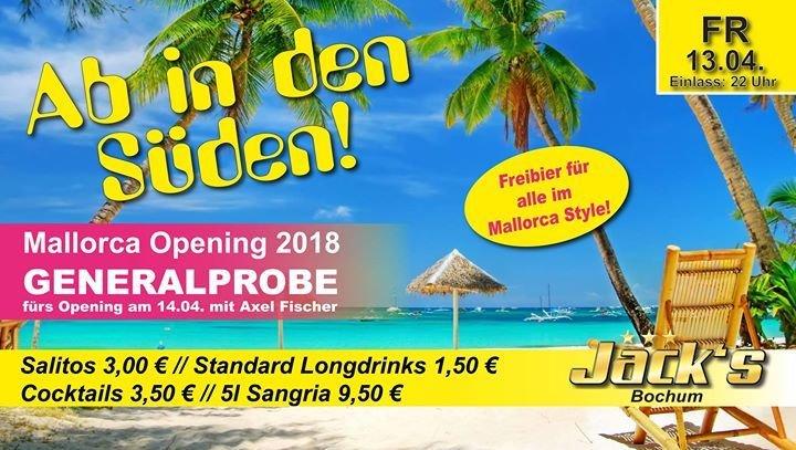 Party Ab In Den Süden Jacks Bochum In Bochum 13042018