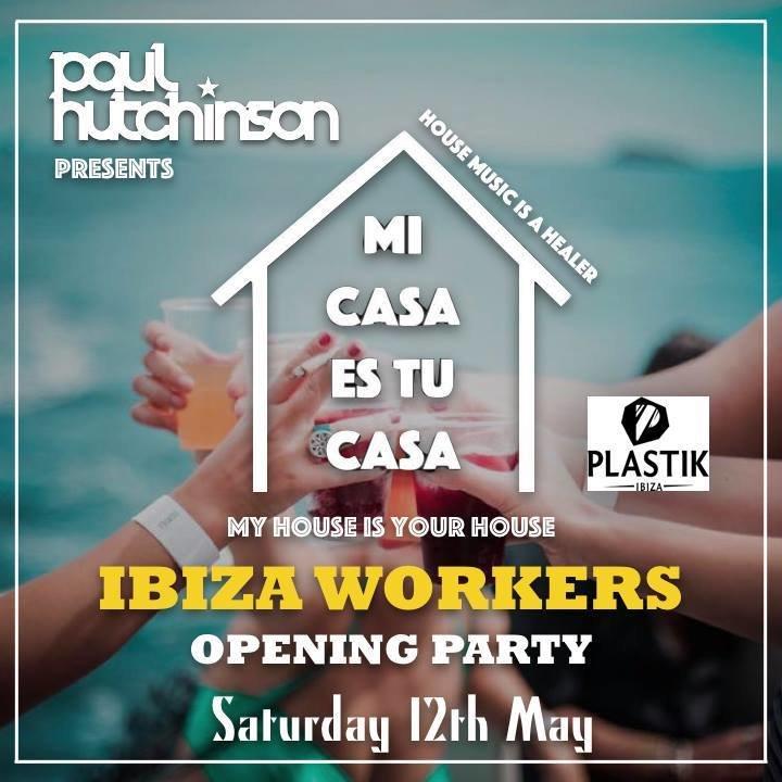 Party mi casa es tu casa workers opening party plastik for Tu casa es mi casa