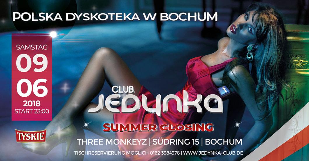 Party - Club Jedynka Bochum - Summer Closing - Three