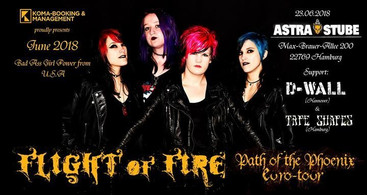 Party Flight Of Fire Path Of The Phoenix Tour 2018 Astra Stube