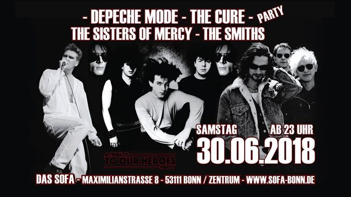 Party Demode Cure Sisters Smiths Party Das Sofa In Bonn