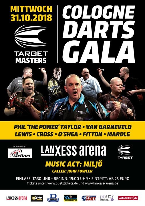 Darts Lanxess Arena