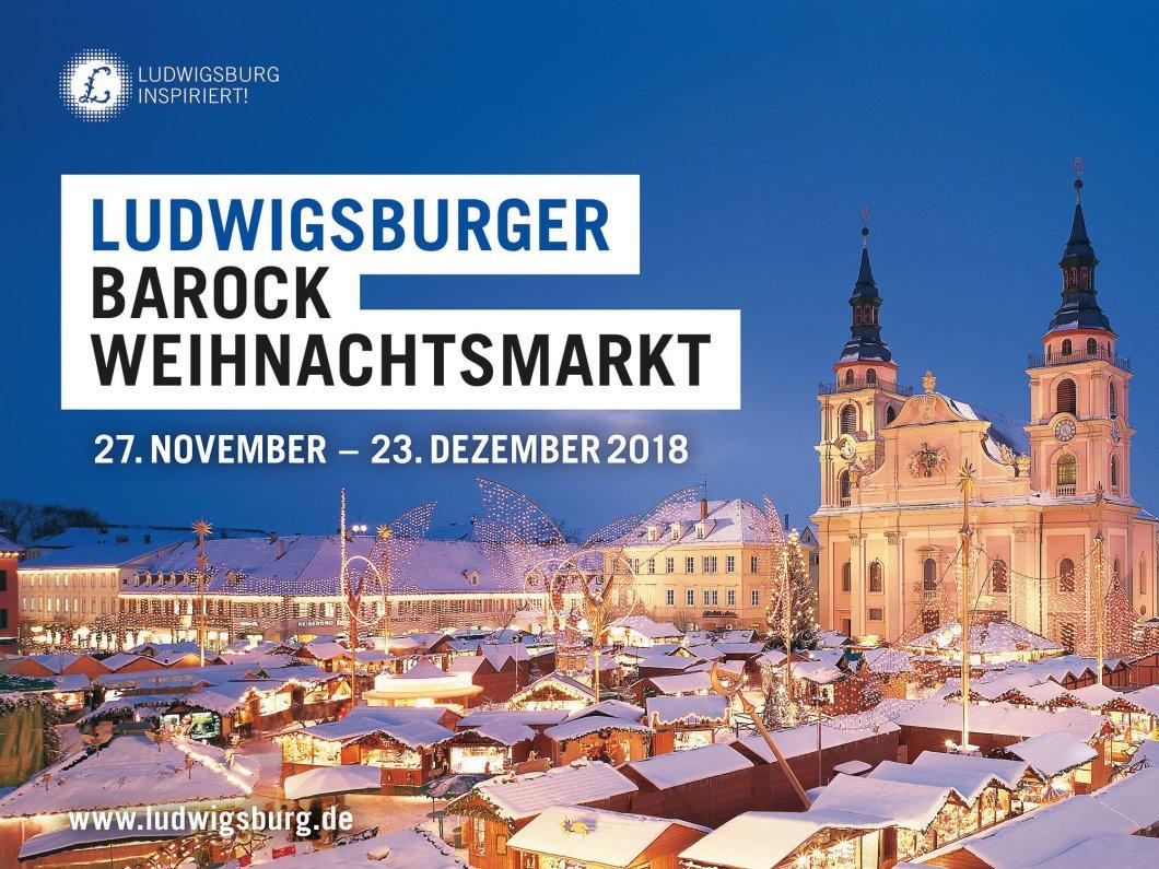 Ludwigsburg Weihnachtsmarkt.Evento Ludwigsburger Barock Weihnachtsmarkt Marktplatz In