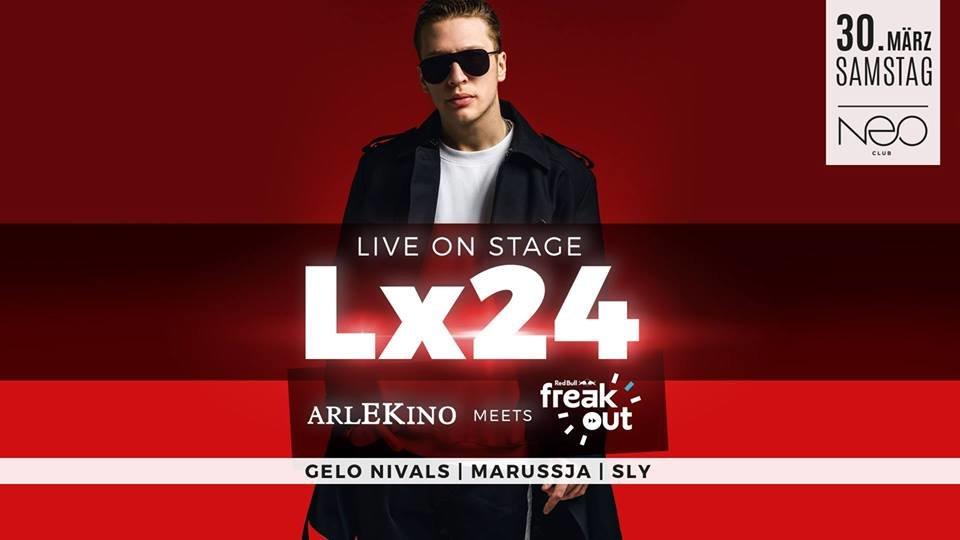 Berühmt Party - Lx24 live - Arlekino // Best Of Russian Sounds - NEO Club UX79