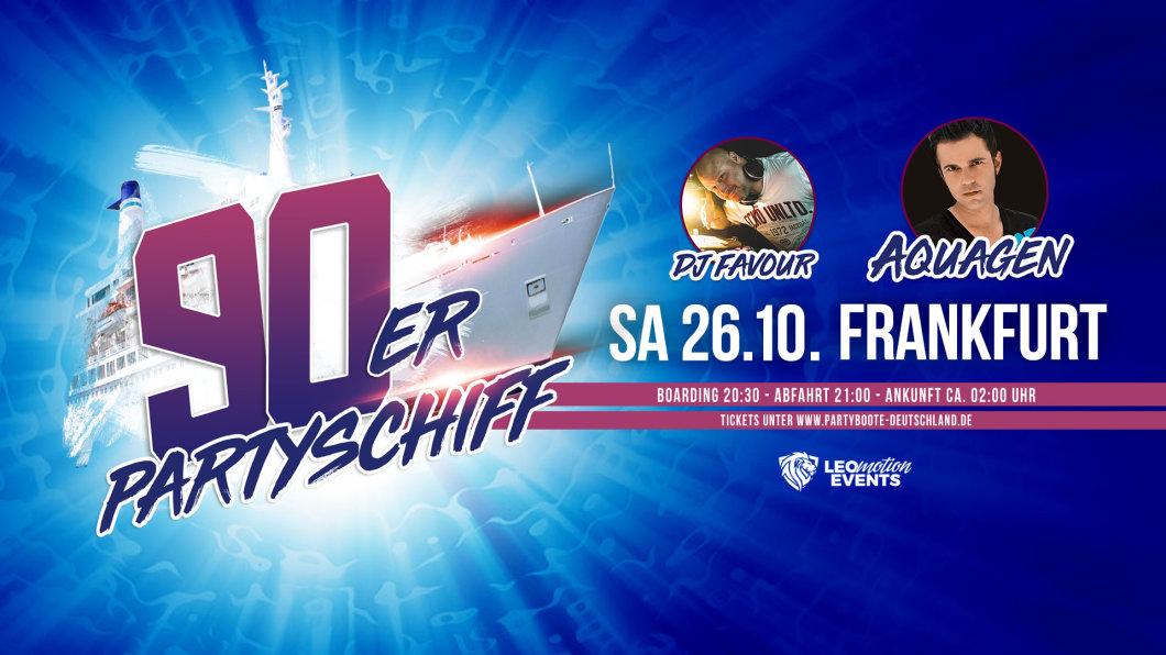90er Party Frankfurt